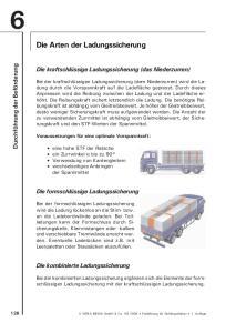 Die Arten der Ladungssicherung
