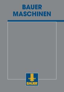 Die BAUER Maschinen Gruppe