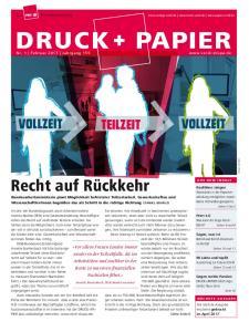 Die Branchenzeitung    DRUCK+PAPIER DRUCK PAPIER