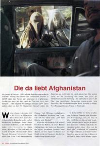 Die da liebt Afghanistan