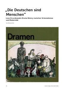 Die Deutschen sind Menschen