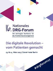 Die digitale Revolution vom Patienten gemacht