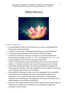 Die drei spirituellen Wege (upaya)