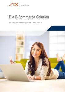 Die E-Commerce Solution