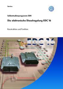 Die elektronische Dieselregelung EDC 16