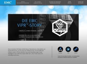 DIE EMC ViPR -STORY EINFACH. ERWEITERBAR. OFFEN