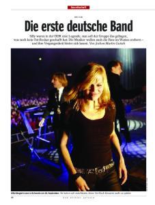 Die erste deutsche Band