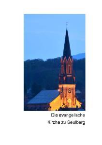 Die evangelische Kirche zu Seulberg