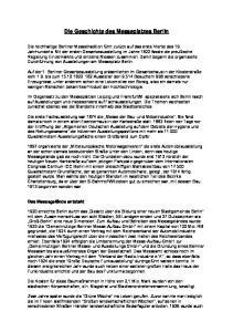 Die Geschichte des Messeplatzes Berlin
