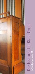 Die historische Klais-Orgel