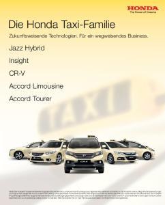 Die Honda Taxi-Familie