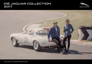 DIE JAGUAR COLLECTION 2017 THE ART OF PERFORMANCE