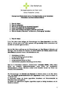 Die Karlschule. Ganztagshauptschule der Stadt Hamm Schule Praktischen Lernens