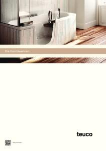 Die Kombiwannen. Katalog downloaden