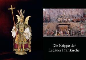 Die Krippe der Legauer Pfarrkirche