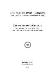 Die Kultur und Religion
