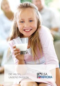 Die Milch, unsere Passion