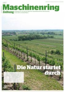 Die Natur startet durch Maschinenring Zeitung