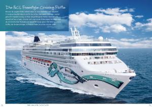 Die NCL Freestyle Cruising Flotte