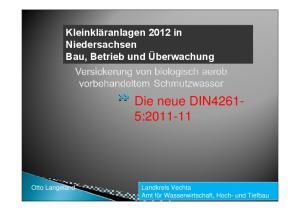 Die neue DIN4261-5: