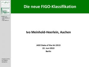 Die neue FIGO-Klassifikation