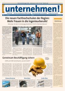 Die neuen Fachhochschulen der Region: Mehr Frauen in die Ingenieurberufe!