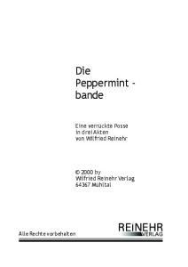 Die Peppermint - bande