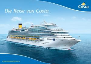 Die Reise von Costa