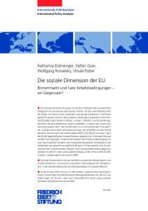 Die soziale Dimension der EU