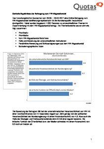 die unternehmerische Verantwortlichkeit von VW? die politische Verantwortlichkeit der Bundesregierung?