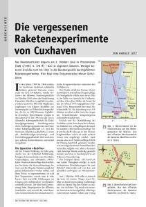 Die vergessenen Raketenexperimente von Cuxhaven