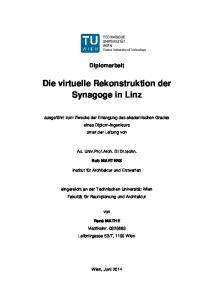 Die virtuelle Rekonstruktion der Synagoge in Linz