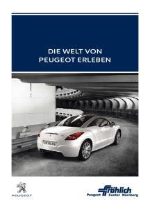 Die Welt von Peugeot erleben