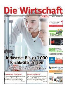 Die Wirtschaft. Die Zeitung der Wirtschaftskammer Vorarlberg 72. Jahrgang Nr Februar Experte und Partner