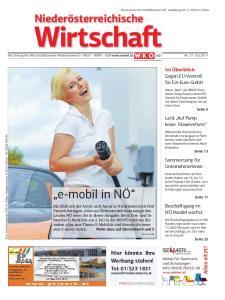 Die Zeitung der Wirtschaftskammer Niederösterreich WEST NORD SÜD  Nr