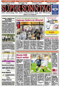 Die Zeitung für den schönsten Tag der Woche! Jahrgang 15 -Nr September 2009