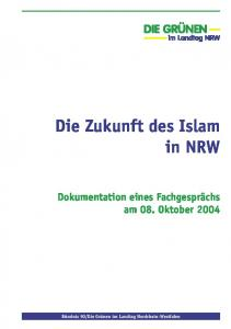 Die Zukunft des Islam in NRW