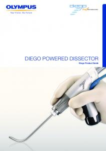 DIEGO POWERED DISSECTOR. Diego Product Guide