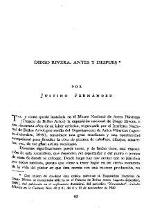 DIEGO RIVERA. ANTES Y DESPUES *