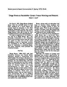Diego Rivera at Rockefeller Center: Fresco Painting and Rhetoric