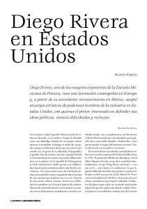 Diego Rivera en Estados Unidos