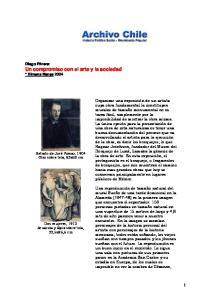Diego Rivera: Un compromiso con el arte y la sociedad * Ximena Narea 2004