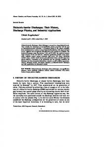 Dielectric-barrier Discharges: Their History, Discharge Physics, and Industrial Applications