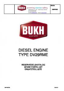 DIESEL ENGINE TYPE DV29RME