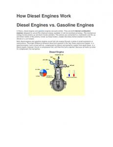 Diesel Engines vs. Gasoline Engines