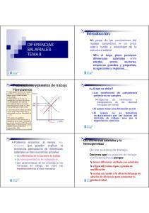 DIFERENCIAS SALARIALES TEMA 8