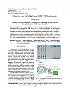 Different Aspects of Gas Turbine Siemens 162MW-V94.2 Vibration Analysis