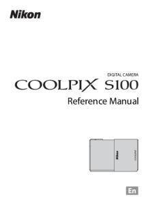 DIGITAL CAMERA. Reference Manual