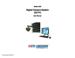 Digital Camera System (CCTV)