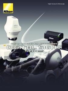 Digital Cameras for Microscopes